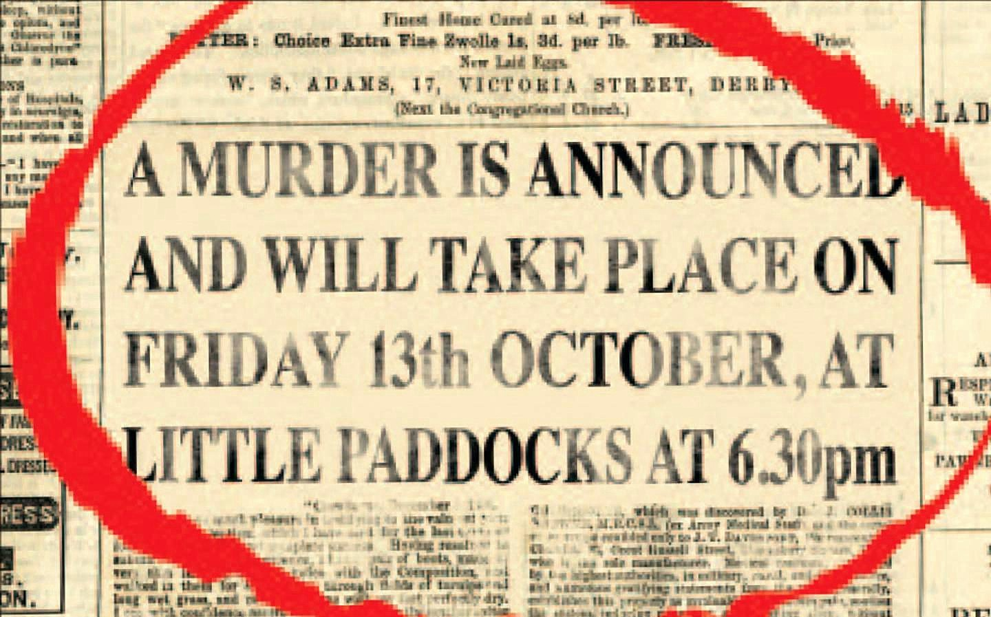 First published in 1950 and considered the best of all Miss Marple crime novels, this was Agatha Christies fiftieth book, A Crime Novel Classic.  An advertisement was placed in the local paper announcing a murder to hapen. Is this a hoax? an effort to torture Letitia? or a childish practical joke? As the locals begin to gather at the designated place you should be there too.
